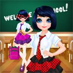 Noktalı Kız Okula Dönüş