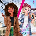 Elsa và Moana trao đổi sinh viên