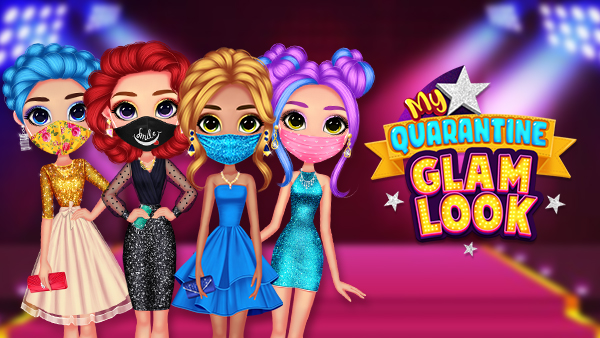 >My Quarantine Glam Look