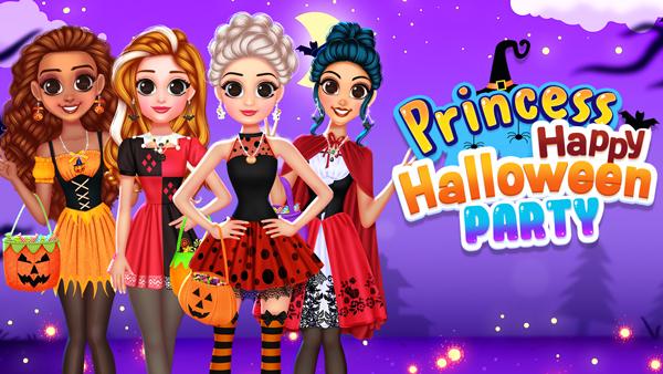 Princess Happy Halloween Party