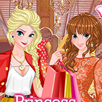 Vente de magasinage de printemps princesse