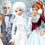 Prenses Kış Düğün Fikirleri