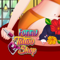 Funny Tattoo Shop