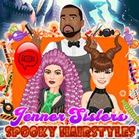 Jenner Sisters Spooky Saç Modelleri