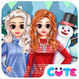 Princesa estilo de invierno