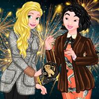 Looks d'hiver festifs de princesses