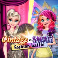 Vintage Vs Swag Fashion Battle