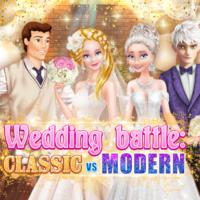 Bataille de mariage: classique vs moderne